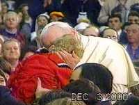 The Pope Caresses Grace