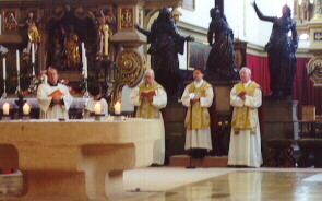 Mass at the Church of Sts. Ulrich & Afra